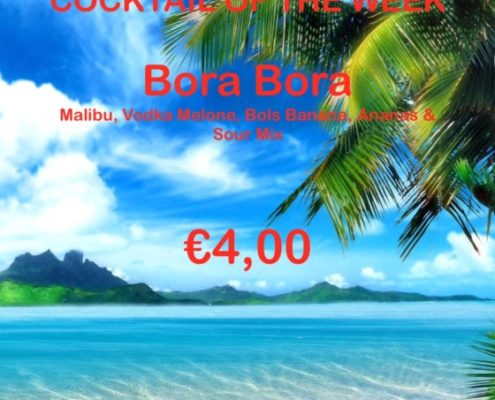 Cocktail Nr. 1 July 2016 Bora Bora