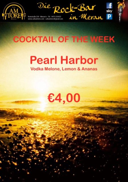 Cocktail Nr. 4 June 2016 - Pearl Harbor