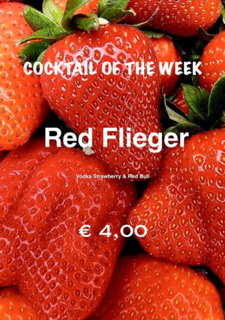 Cocktail Nr.1 Februar Red Flieger