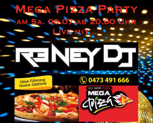 Cocktail Mega Pizza Party with DJ Reney