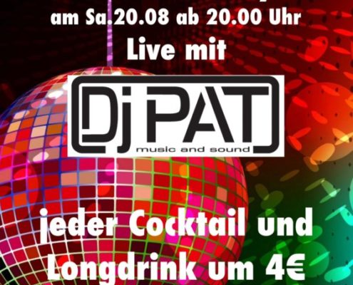 Cocktail Party with DJ Pat