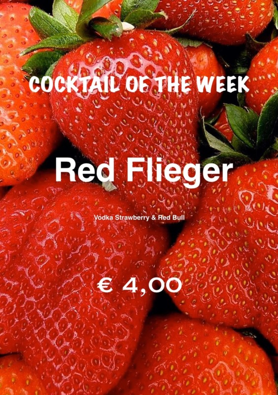 Cocktail Nr.1 Juni Red Flieger