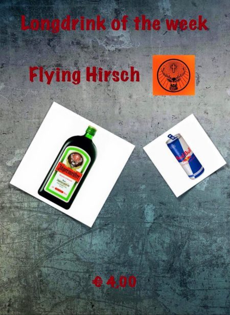 Cocktail Nr.3 Dezember Flying Hirsch