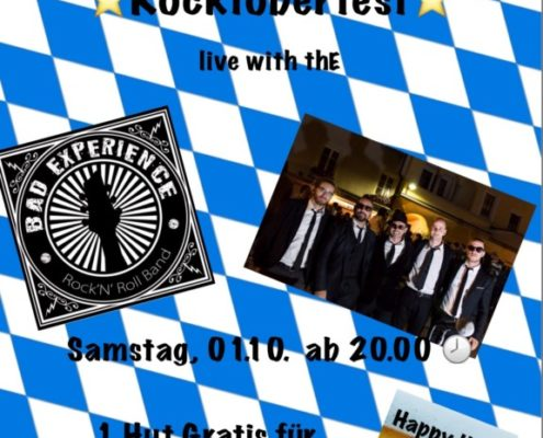 ROCKTOBERFEST Live with BAD EXPERIENCE
