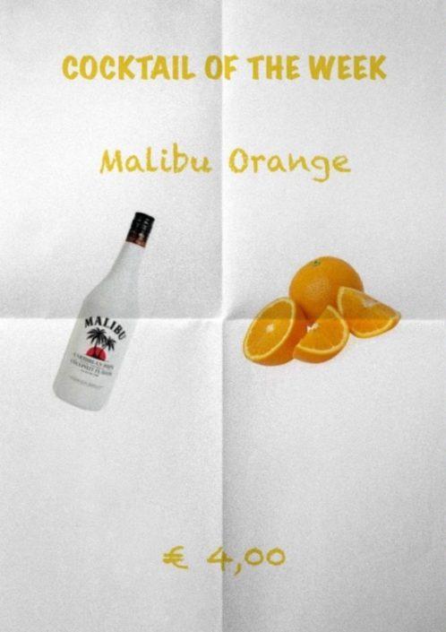 Cocktail Nr.2 Juni Malibu Orange