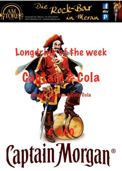 Cocktail Nr.2 Juli Captain Cola
