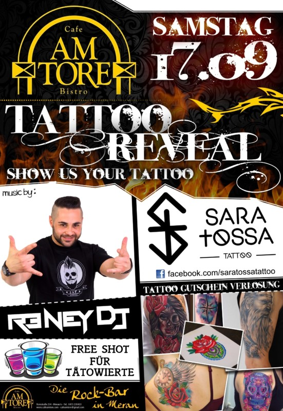 Tattoo Reveal Party