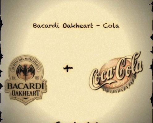 Cocktail Nr.2 April Bacardi Oakheart & Cola