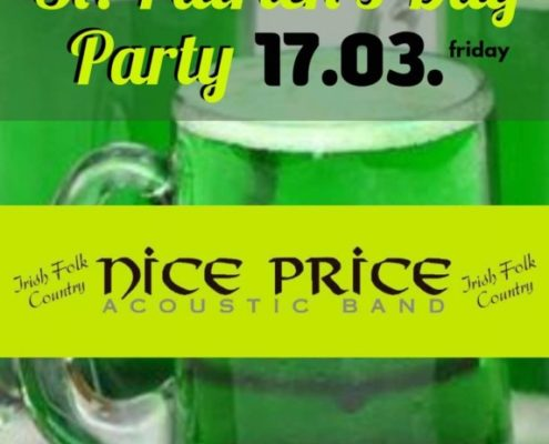 St. Patrick Day Party Live with Nice Price