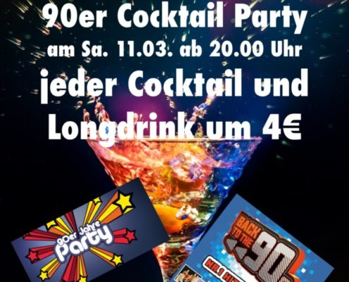 Cocktail Party März 2017