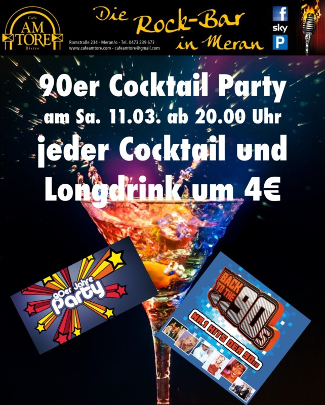 Cocktail Party März 2017