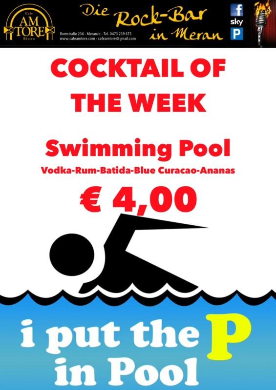 Cocktail Nr.3 Februar Swimming Pool