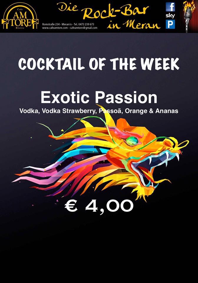 Cocktail Nr.1 Juli Exotik Passion