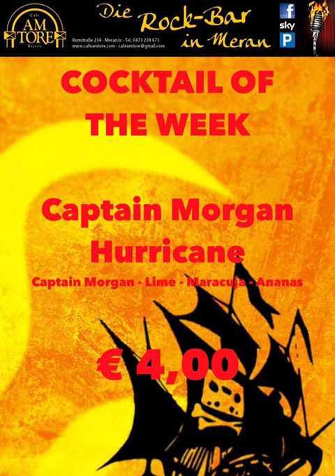 Cocktail Nr. 3 Juni Captain Hurrican