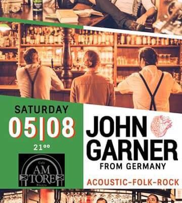 Acoustic-Folk-Rock- Live with John Garner from Germany
