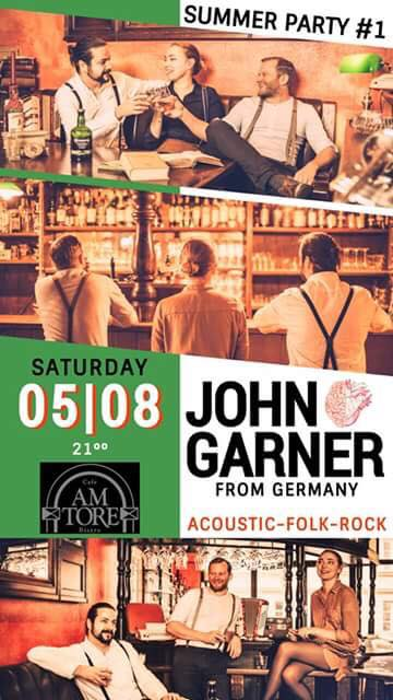 Acoustic-Folk-Rock- Live with John Garner from Germany