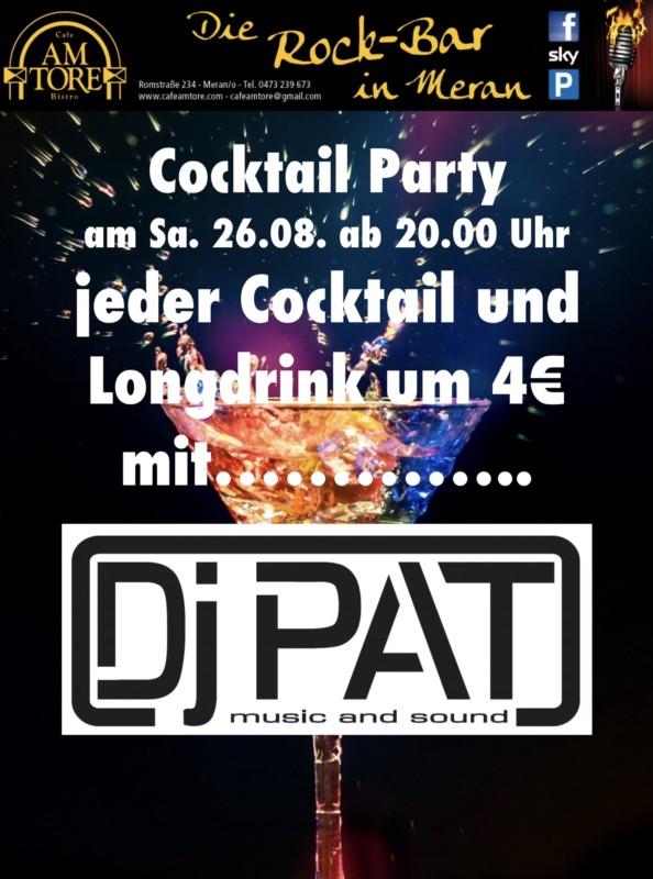 Cocktail Party mit DJ PAT