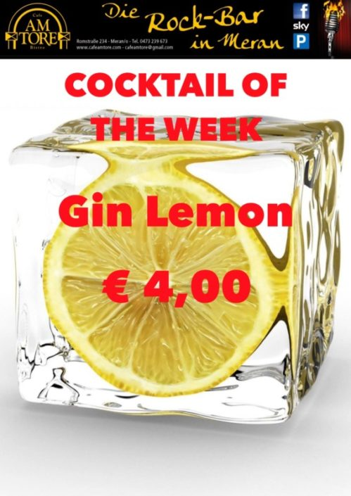 Cocktail Nr.2 September Gin Lemon