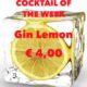 Cocktail Nr.2 September Gin Lemon