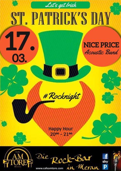 St. Patricks Day Live with Nice Price!