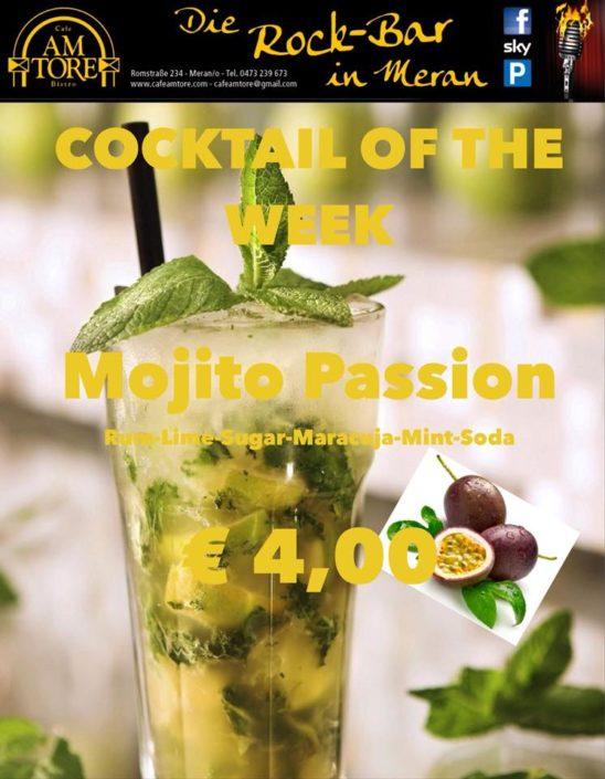 Cocktail Nr.4 März Mojito Passion