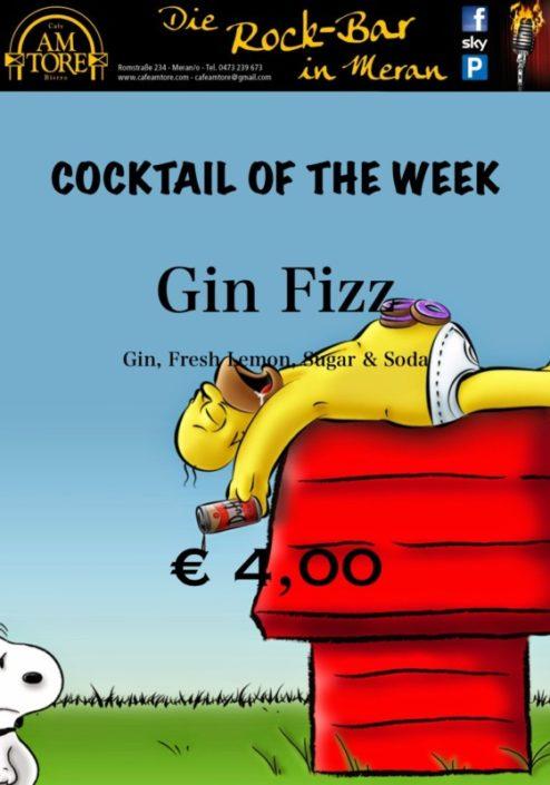 Cocktail Nr.2 April Gin Fizz