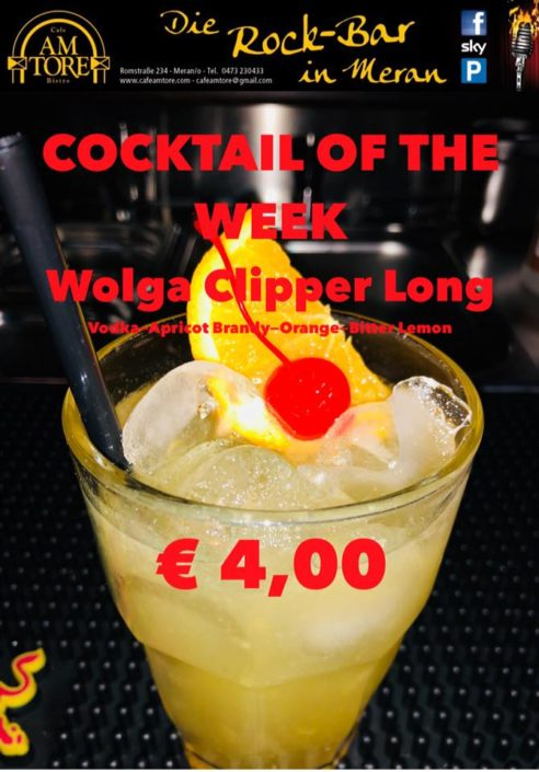 Cocktail Nr.3 April Wolga Clipper Long