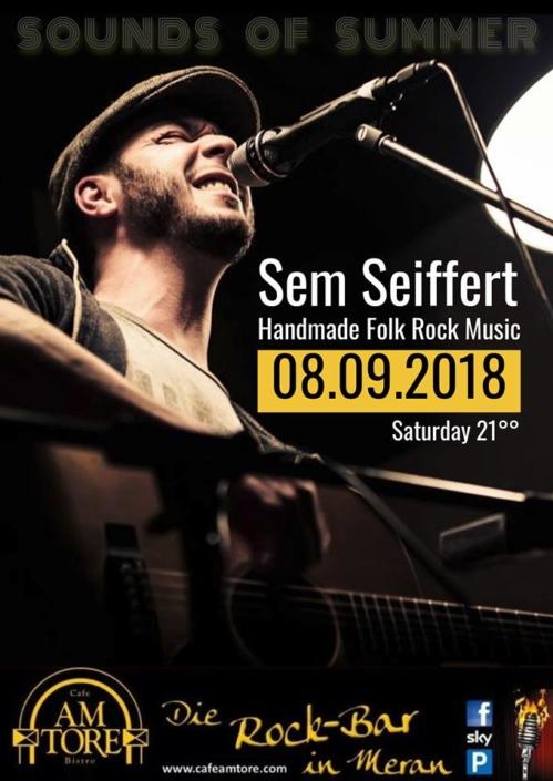 Sem Seiffert Live im Cafe Am Tore!!!