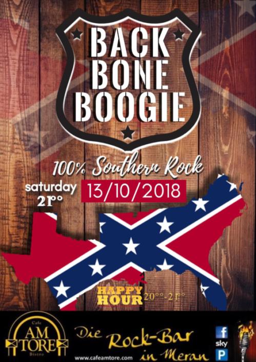 BackBone Boogie Live am 13.10.