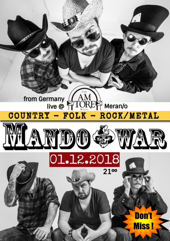 Mandowar Live am 01.12.