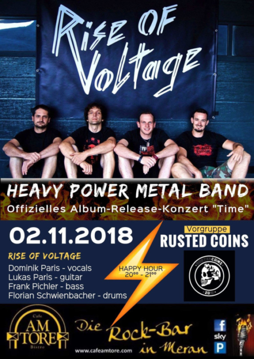 Rise of Voltage CD Release Party