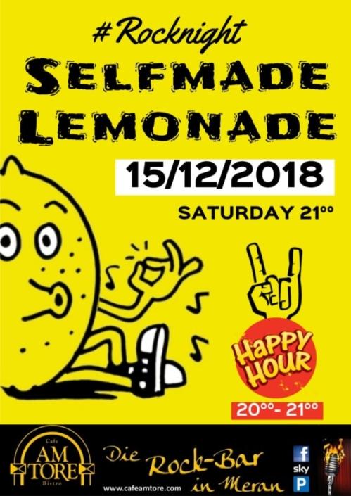 Selfmade Lemonade Live!