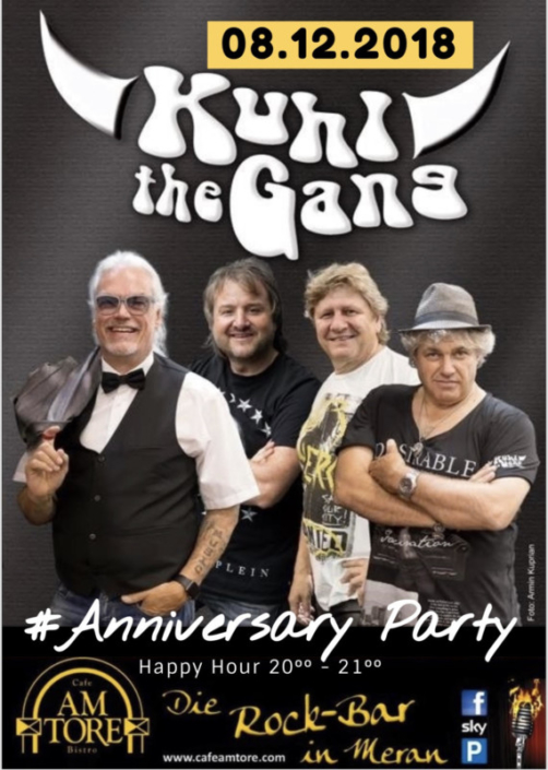 Anniversary Party Live with Kuhl The Gang