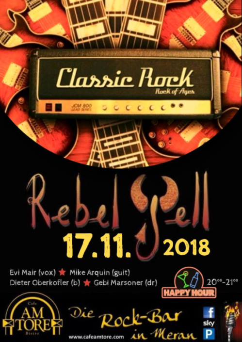 Rebel Yell Live im Cafe Am Tore