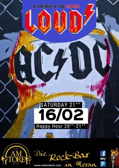 ACDC Cover Loud Live