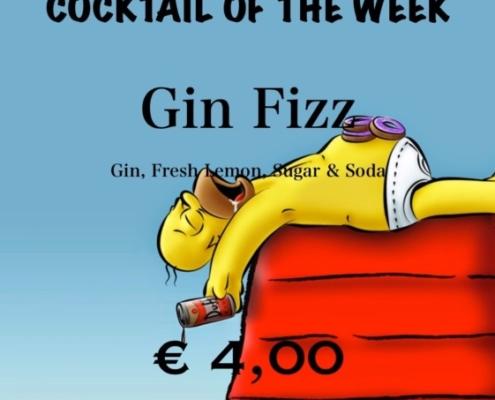 Cocktail Nr.1 Mai Gin Fizz