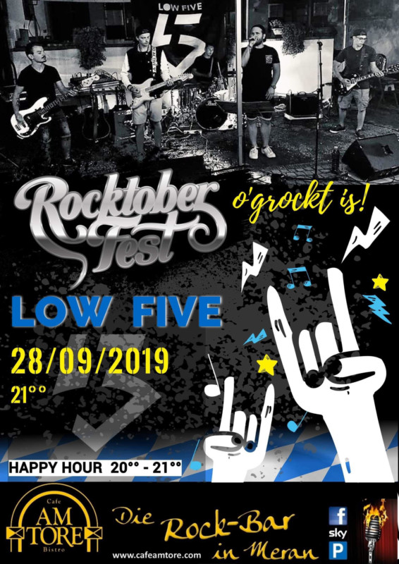 Rocktoberfest Live with LOW FIVE