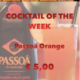 Cocktail Nr.4 Oktober Passoa Orange