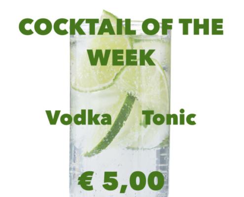 Cocktail Nr.3 Oktober Vodka Tonic