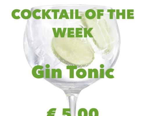 Cocktail Nr. 3 Februar Gin Tonic