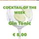 Cocktail Nr.1 Oktober Gin Tonic