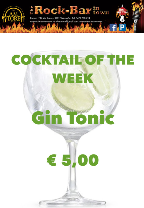 Cocktail Nr.1 Oktober Gin Tonic