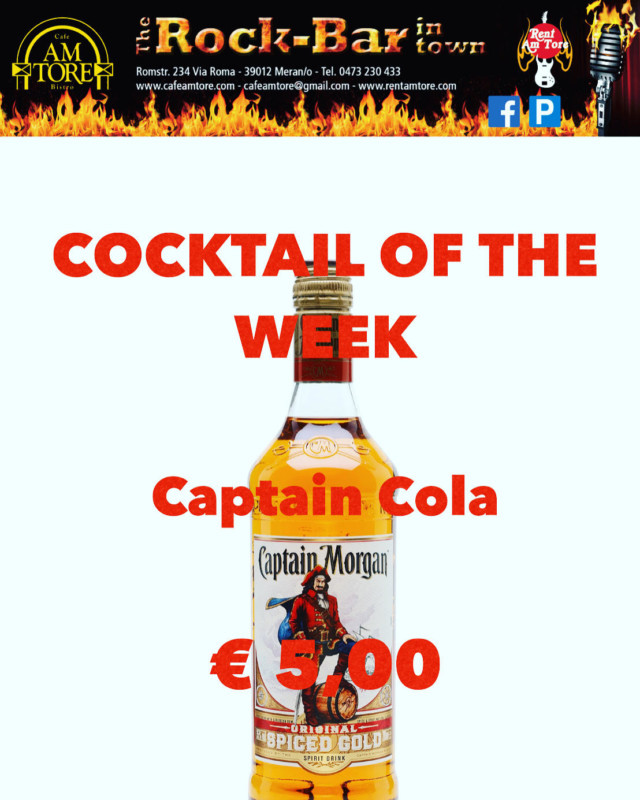Cocktail Nr.2 November Captain Cola