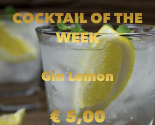 Cocktail Nr.3 Dezember Gin Lemon