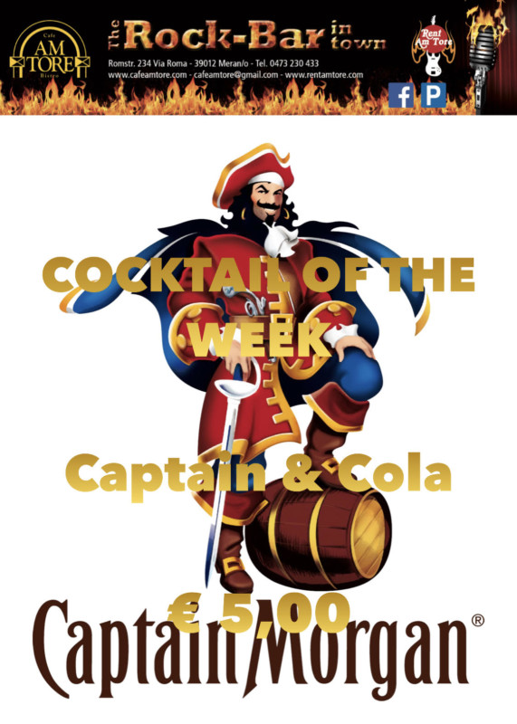 Cocktail Nr. 4 Januar Captain Cola