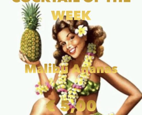 Cocktail Nr. 3 Januar Malibu Ananas