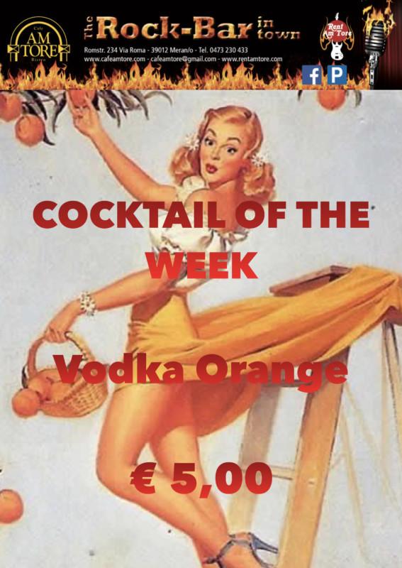 Cocktail Nr. 4 Januar Vodka Orange