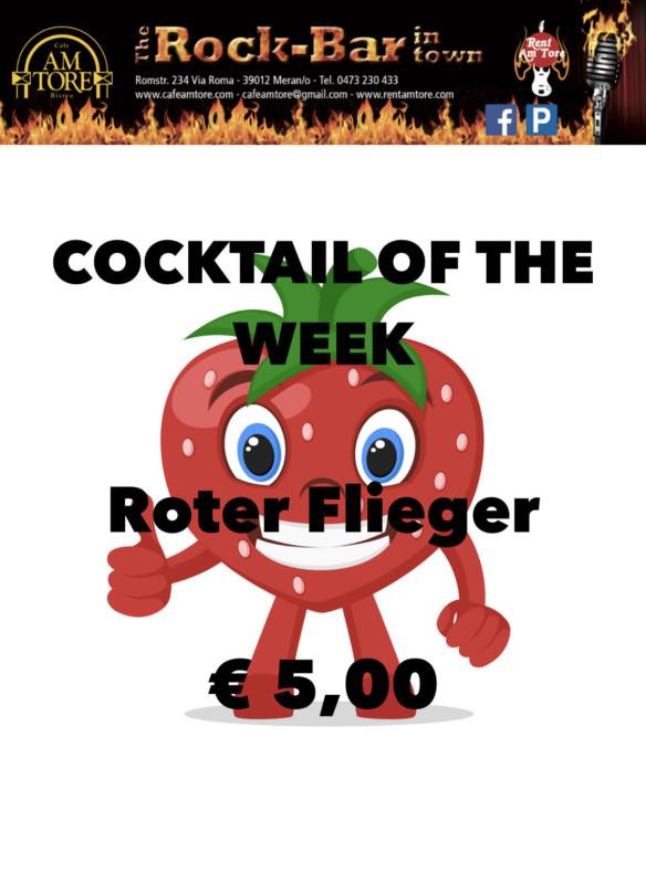 Cocktail Nr.2 Februar Roter Flieger