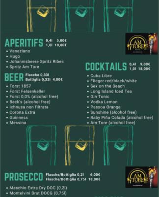Cocktail & Aperitif Lieferservice in Meran