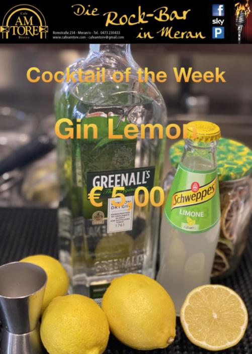 Cocktail Nr.4 Juni Gin Lemon